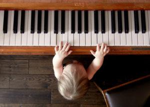 Chọn mua đàn piano dành cho trẻ em
