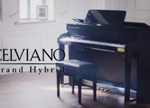 Đàn Piano Casio Celviano Grand Hybrid và những đánh giá
