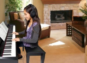 Tư vấn cách để đàn piano điện ở vị trí tốt nhất