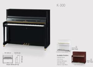 Đánh giá đàn piano Kawai K300 – niềm tự hào của thương hiệu Kawai