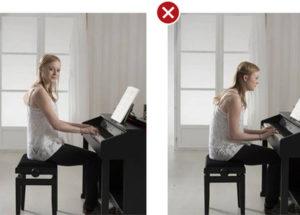 Những lỗi thường gặp khi chơi đàn piano
