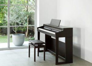 Đàn piano Roland RP-701 giống như một cây piano cổ điển