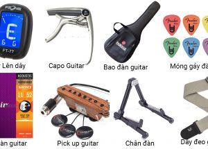 Những phụ kiện cần thiết của đàn guitar
